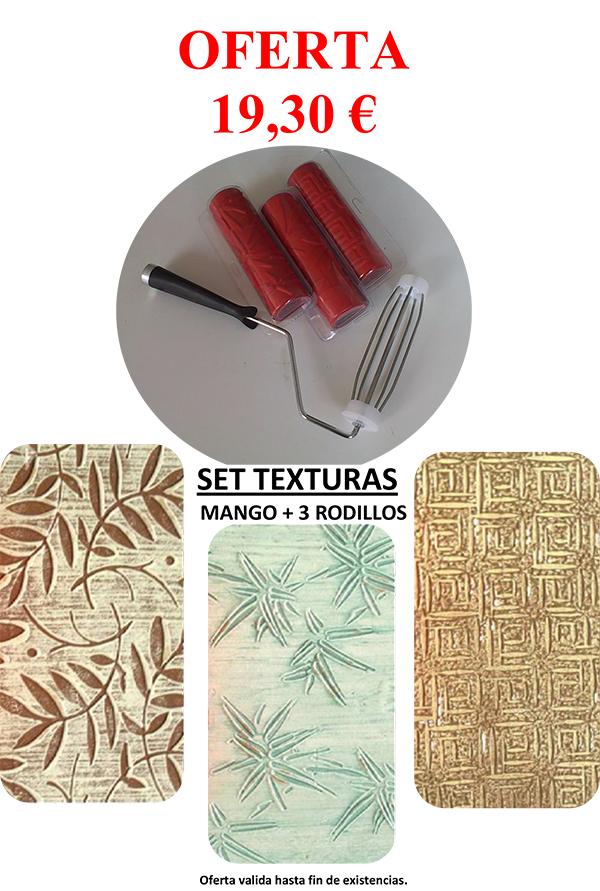 oferta set texturas